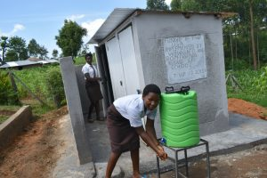 The Water Project:  Washing Hands After Visiting The Toilet