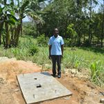 The Water Project: Lukala C Community, Livaha Spring -  Happy Slab Owner