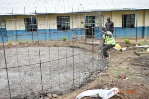 The Water Project:  Fitting The Wire To The Foundation