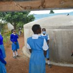 The Water Project: Ivakale Primary School & Community - Rain Tank 2 -  Gutter Management Training