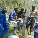 The Water Project: Kinu Friends Secondary School -  Artisans Having A Meal Break