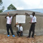 The Water Project: Kinu Friends Secondary School -  Boys Posing At The Water Point