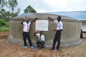 The Water Project:  Boys Posing At The Water Point