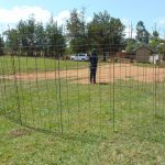 The Water Project: Ivakale Primary School & Community - Rain Tank 2 -  Tank Wire Reinforcement