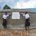The Water Project: Kinu Friends Secondary School -  Girls Posing For A Photo