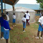 The Water Project: Ivakale Primary School & Community - Rain Tank 2 -  Tank Maintenance Trainng