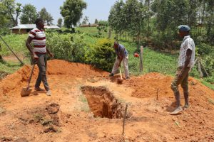 The Water Project:  Latrine Pit Excavation