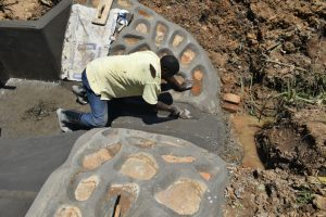The Water Project:  Finishing Drainage Channel