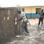 The Water Project: Isango Primary School -  Plastering Outer Walls