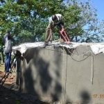 The Water Project: Isango Primary School -  Fitting The Dome