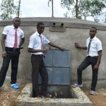 The Water Project: Kinu Friends Secondary School -  Celebrating The Tank
