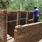 The Water Project: Kinu Friends Secondary School -  Framing Of The Doors And The Roof