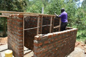 The Water Project:  Framing Of The Doors And The Roof