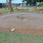 The Water Project: Ivakale Primary School & Community - Rain Tank 2 -  Preparing Tank Dome