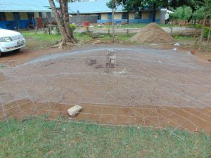 The Water Project:  Preparing Tank Dome