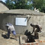 The Water Project: Isango Primary School -  Drawing Point And Dome Work