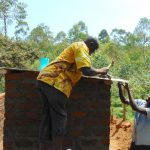 The Water Project: Kinu Friends Secondary School -  Roofing Of The Toilets