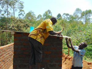 The Water Project:  Roofing Of The Toilets