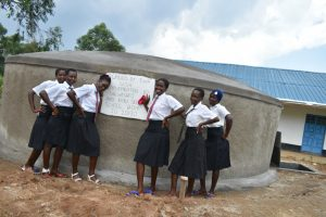 The Water Project:  Girls Celebrate The Tank