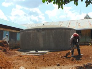 The Water Project:  Landscaping Around The Tank