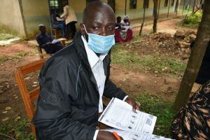 The Water Project:  Village Administrator Mr Jethro Anami At Training