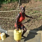 The Water Project: Maraba Community, Nambwaya Spring -  Easy Access With Stairs
