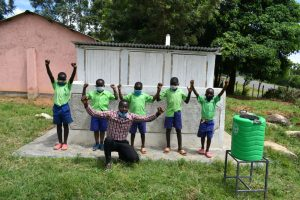 The Water Project:  Pupils And Teachers Share Thanks For Latrines