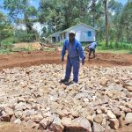 The Water Project: Kinu Friends Secondary School -  Artisan Levels The Tank Stone Foundation