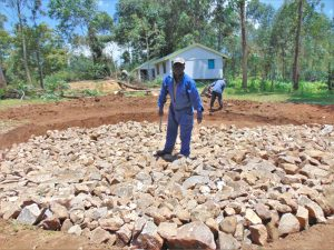 The Water Project:  Artisan Levels The Tank Stone Foundation