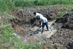 The Water Project:  Excavation Work