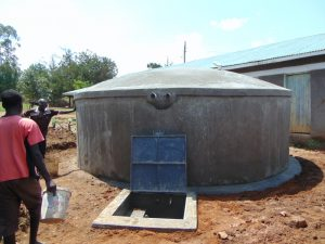 The Water Project:  Curing A Complete Tank