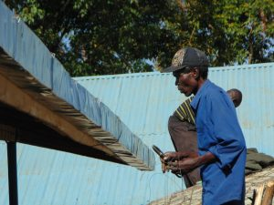 The Water Project:  Artisan Fits The Guttering