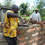 The Water Project: Ivakale Primary School & Community - Rain Tank 2 -  Latrine Brickwork