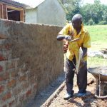 The Water Project: Ivakale Primary School & Community - Rain Tank 2 -  Plaster Works