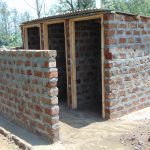 The Water Project: Ivakale Primary School & Community - Rain Tank 2 -  Vip Latrines Under Construction