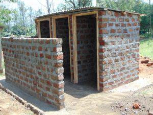 The Water Project:  Vip Latrines Under Construction