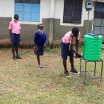 The Water Project: Kapkoi Primary School -  Lining Up At The Handwashing Station