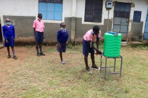 The Water Project:  Lining Up At The Handwashing Station