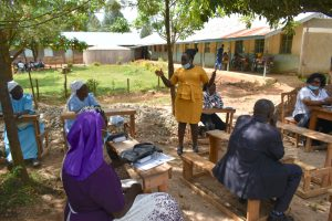 The Water Project:  Director Catherine Chepkemoi Addresses Parents