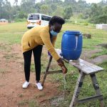 The Water Project: Kapkoi Primary School -  Handwashing Demonstration