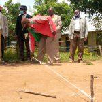 The Water Project: Ivakale Primary School & Community - Rain Tank 2 -  Measuring Tank Foundation