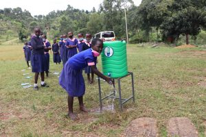 The Water Project:  Practical Session At A Handwashing Point