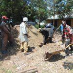 The Water Project: Ivakale Primary School & Community - Rain Tank 2 -  Concrete Work