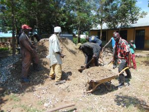 The Water Project:  Concrete Work