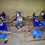The Water Project: Ivakale Primary School & Community - Rain Tank 2 -  Pupils Attend Training