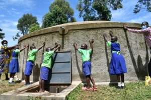 The Water Project:  Dedication Of The Rain Tank