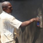 The Water Project: Friends Kisasi Secondary School -  Interior Tank Plaster Works