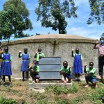 The Water Project: Boyani Primary School -  Formal Posing At The Tank