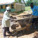 The Water Project: Ivakale Primary School & Community - Rain Tank 2 -  Sieving The Sand