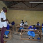 The Water Project: Ivakale Primary School & Community - Rain Tank 2 -  Trainer Erick Wagaka Leads A Session